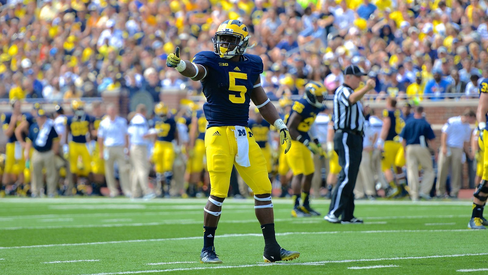 Michigan Football Spring Game: The Return of Jabrill ...