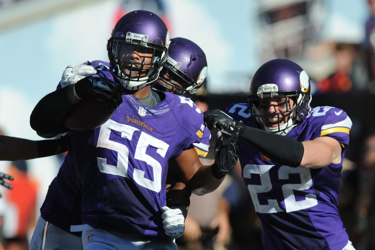 Anthony Barr Reacts To The Eric Kendricks Selection Daily Norseman