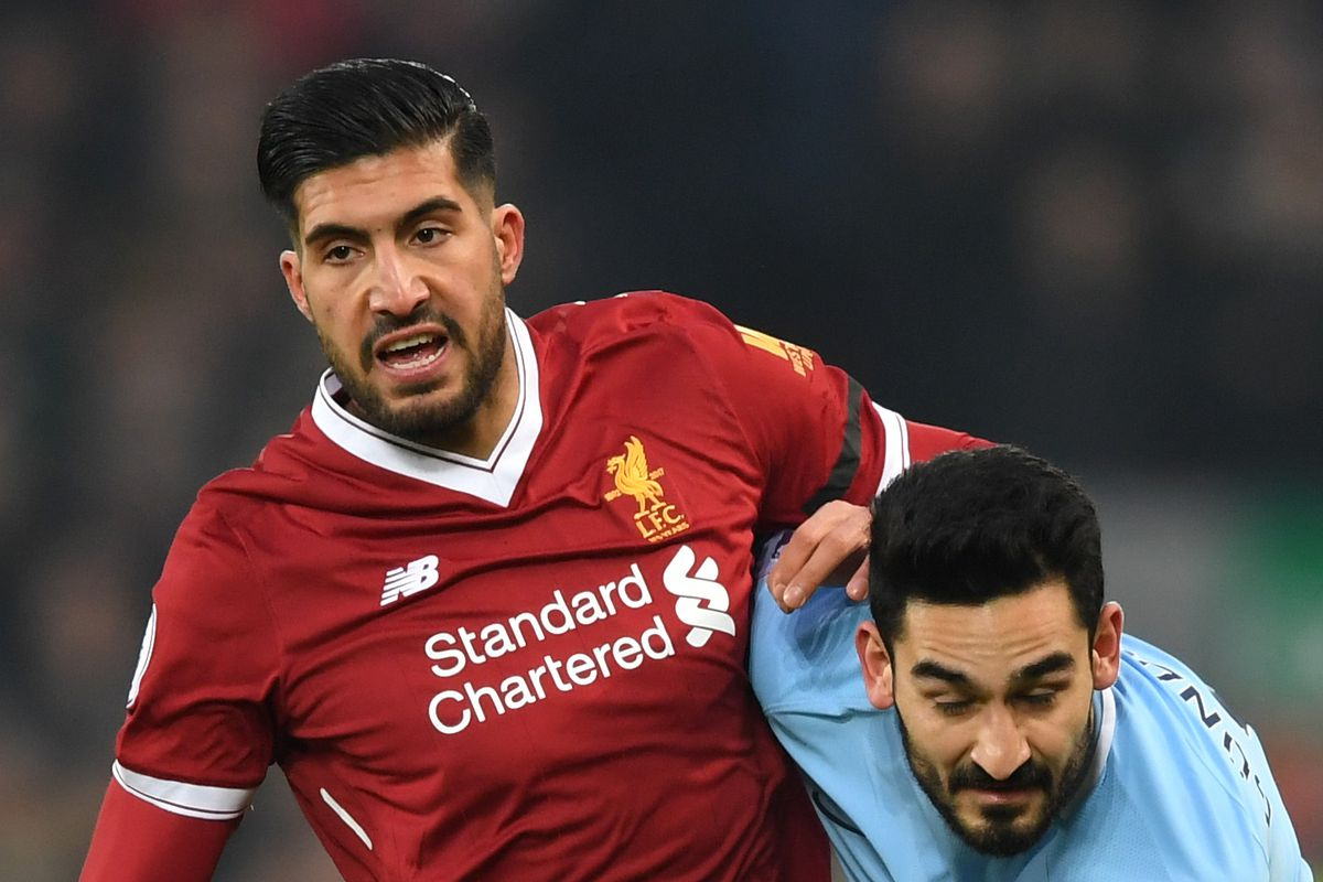 Emre Can reveals he is still in contract discussions with Liverpool