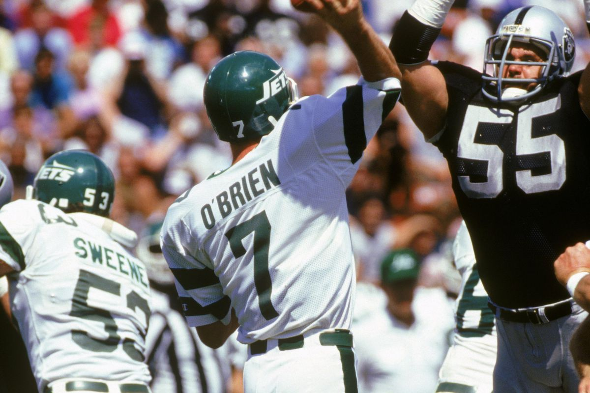 New York Jets v Los Angeles Raiders