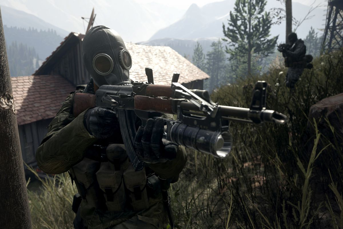 Call Of Duty Modern Warfare Remastered Will Get New Weapons Polygon
