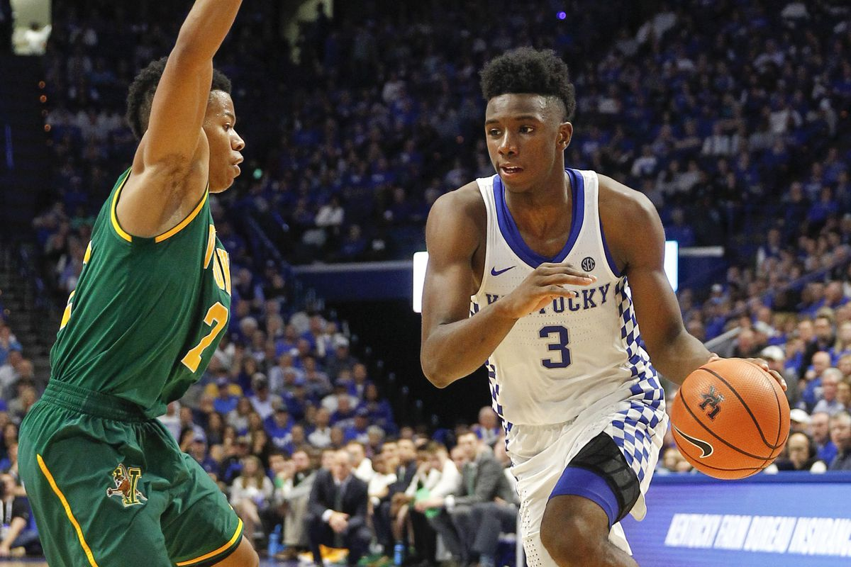 Kentucky Basketball Our First Look At The New Wildcats In: College Basketball 2017: All Eyes On Hamidou Diallo In