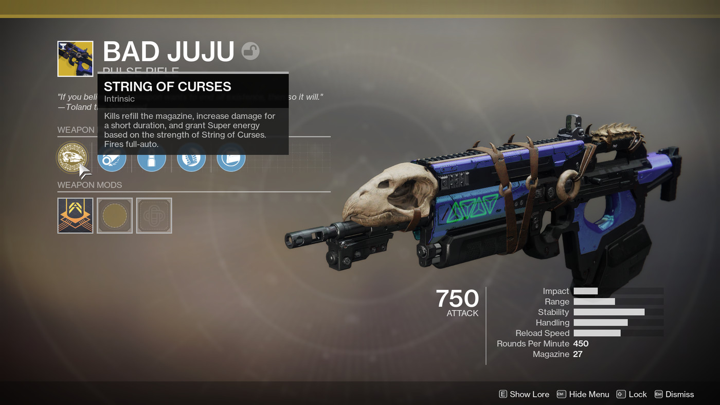 Destiny 2: Bad Juju Exotic pulse rifle quest guide - Polygon