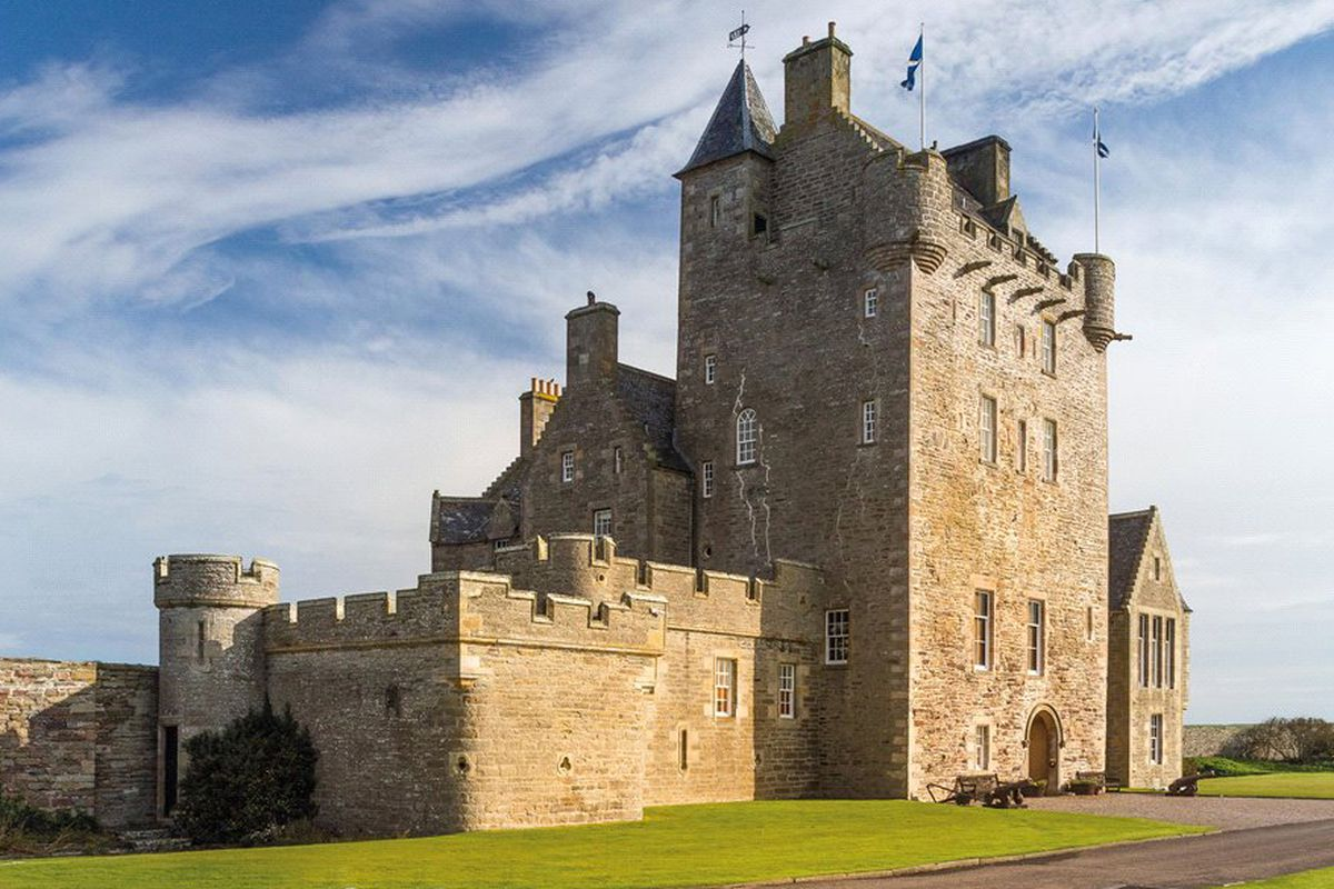 Scottish Castle Ackergill Tower On The Market For 5 1m