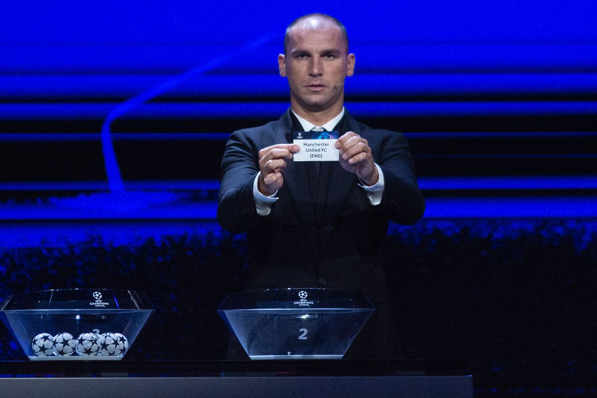 UEFA Champions League 2021/22 Group Stage Draw