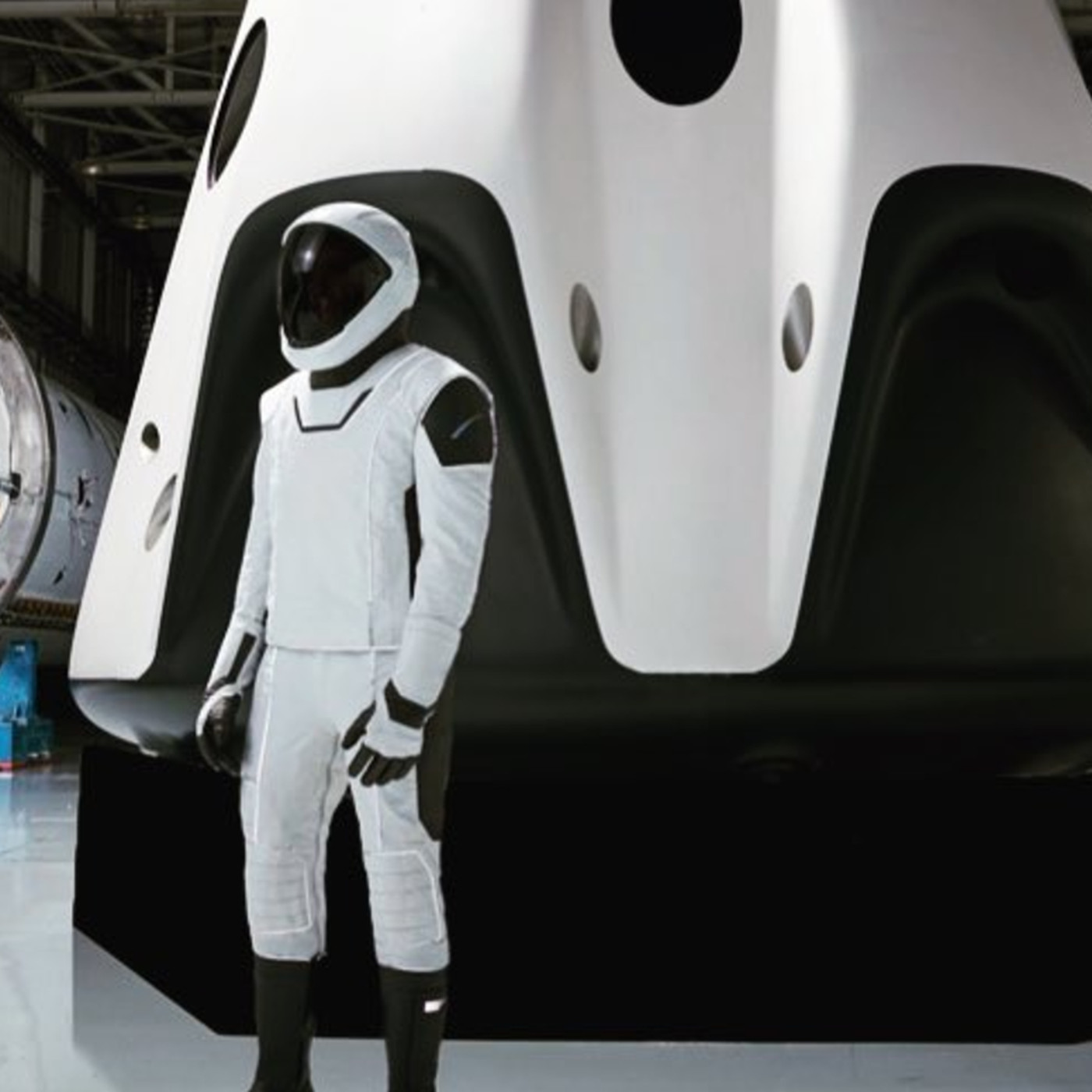 Elon Musk shares another photo of SpaceX's future space suits - The Verge
