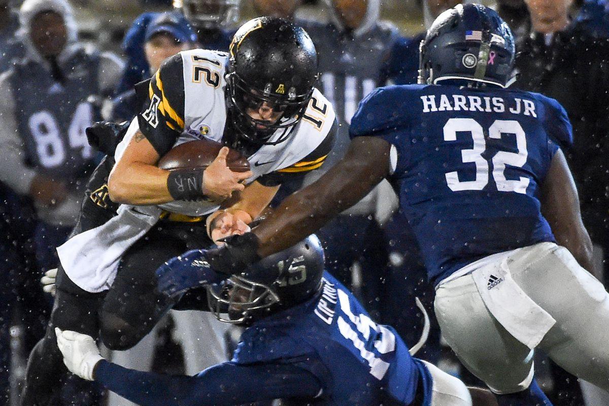 NCAA Football: Appalachian State at Georgia Southern