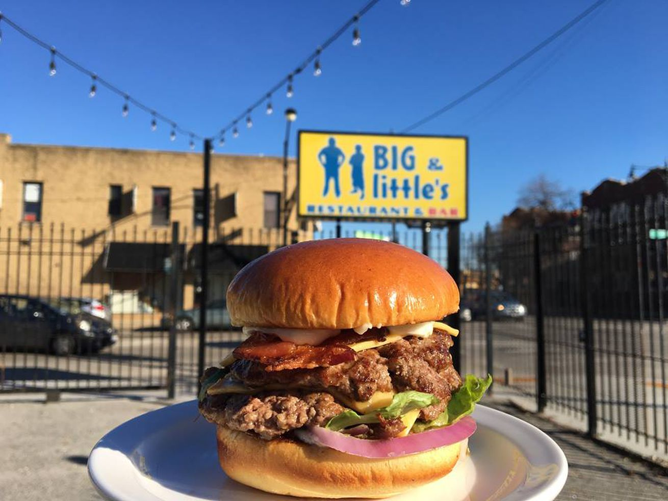 Burgers and a large outdoor space are part of this new Logan Square spot