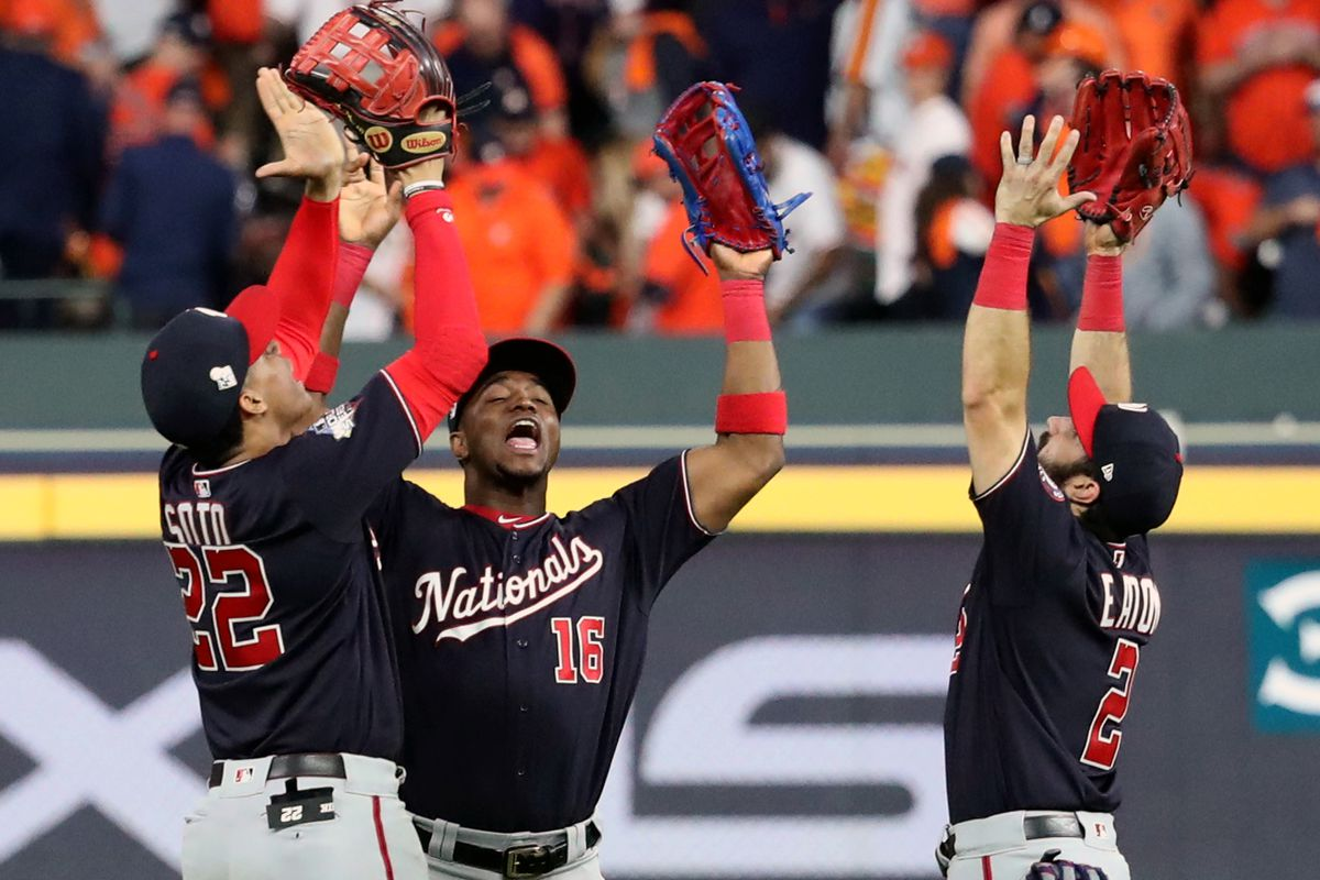 Washington Nationals Schedule 2020.Washington Nationals Outfield Set For 2020 Nats Pick Up