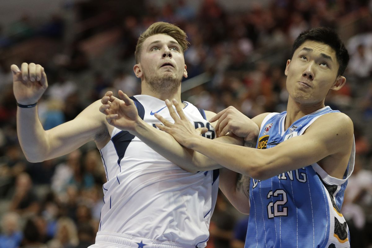 NBA: Preseason-Beijing Ducks at Dallas Mavericks