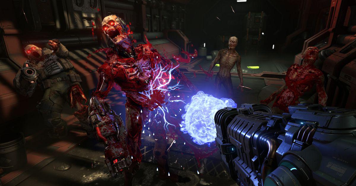 سوف يقوم برنامج id بإزالة Denuvo لمكافحة الغش من إصدار الكمبيوتر الشخصي من Doom Eternal 1