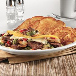 Philly Cheesesteak Omelette