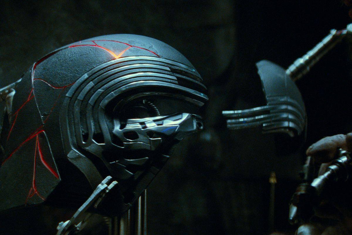 Kylo Ren's helmet.