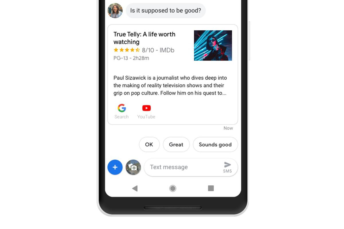 The Google Assistant is coming to Android Messages - The Verge