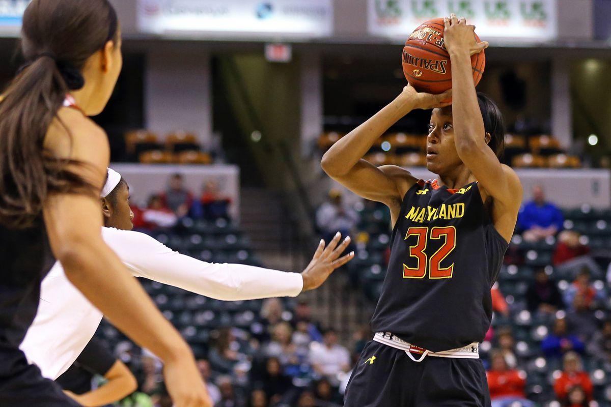 NCAA Womens Basketball: Big Ten Conference Tournament-Maryland vs Michigan State