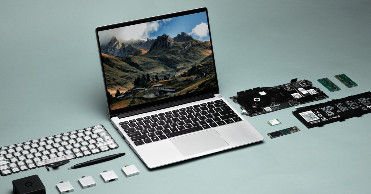 The Framework Laptop is an upgradable customizable 13-inch notebook coming this spring – The Verge