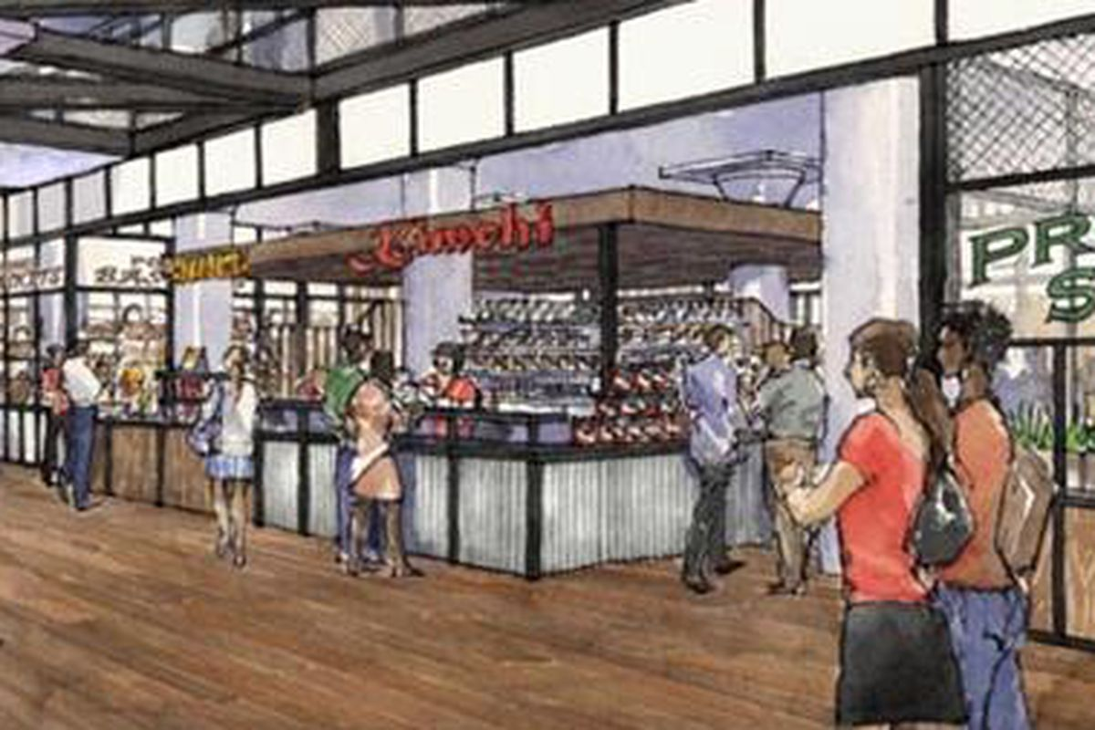 Ponce City Market's Central Food Hall.