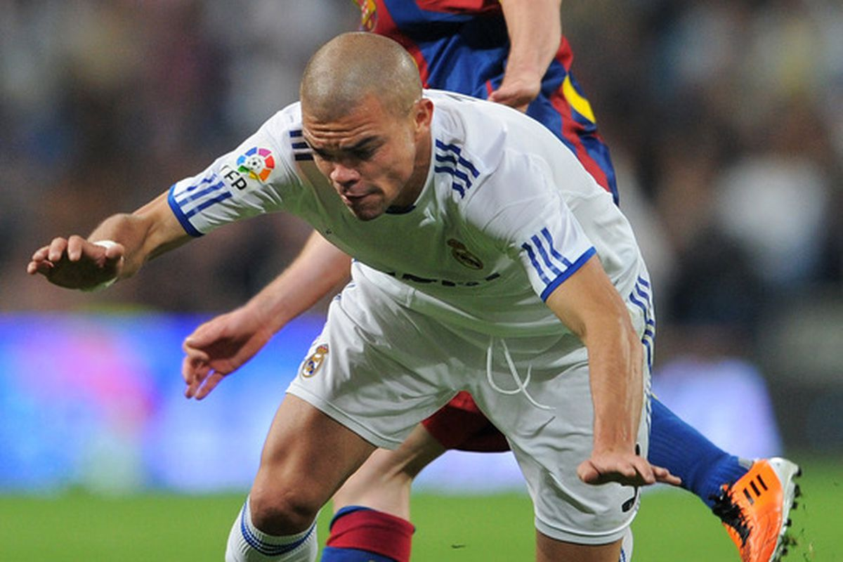 Pepe kept Messi in check during the Clasico World Series, and perhaps Messi could be sacrificed to ensure the team a victory