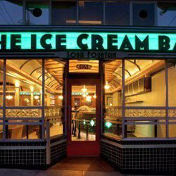 """Ice Cream Bar, 815 Cole Street. Image via <a href=""""https://www.facebook.com/303090803075345/photos/a.303091483075277.88575.303090803075345/403973249653766/?type=1&theater""""> Facebook</a>. Cap off your day with a stop by this old-fashioned soda fountain. T"""