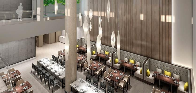 Melia Hotel restaurant