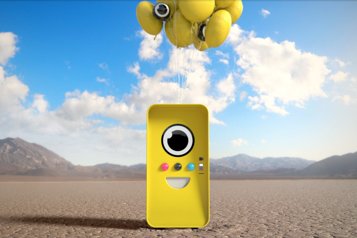 Snapchat will sell its new video-capturing glasses via vending machines