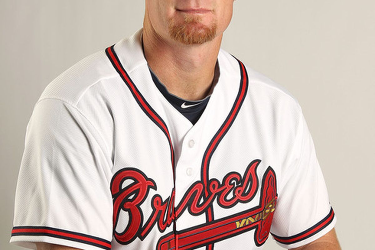 Brooks Conrad's bat could be a valuable asset off the bench to Fredi Gonzalez this season.