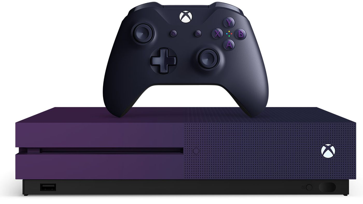 New Fortnite edition purple Xbox One S will go on sale on June 7th