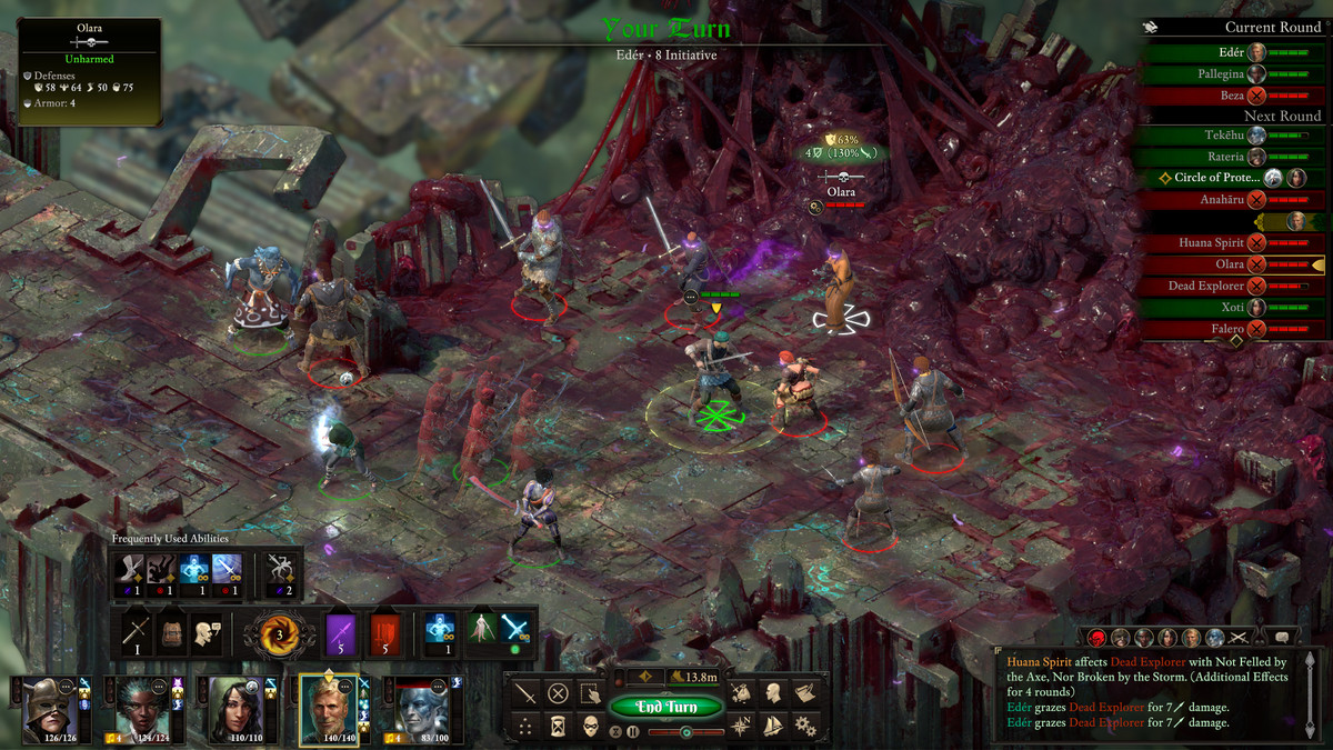 Pillars of Eternity 2 feels great as a turn-based game