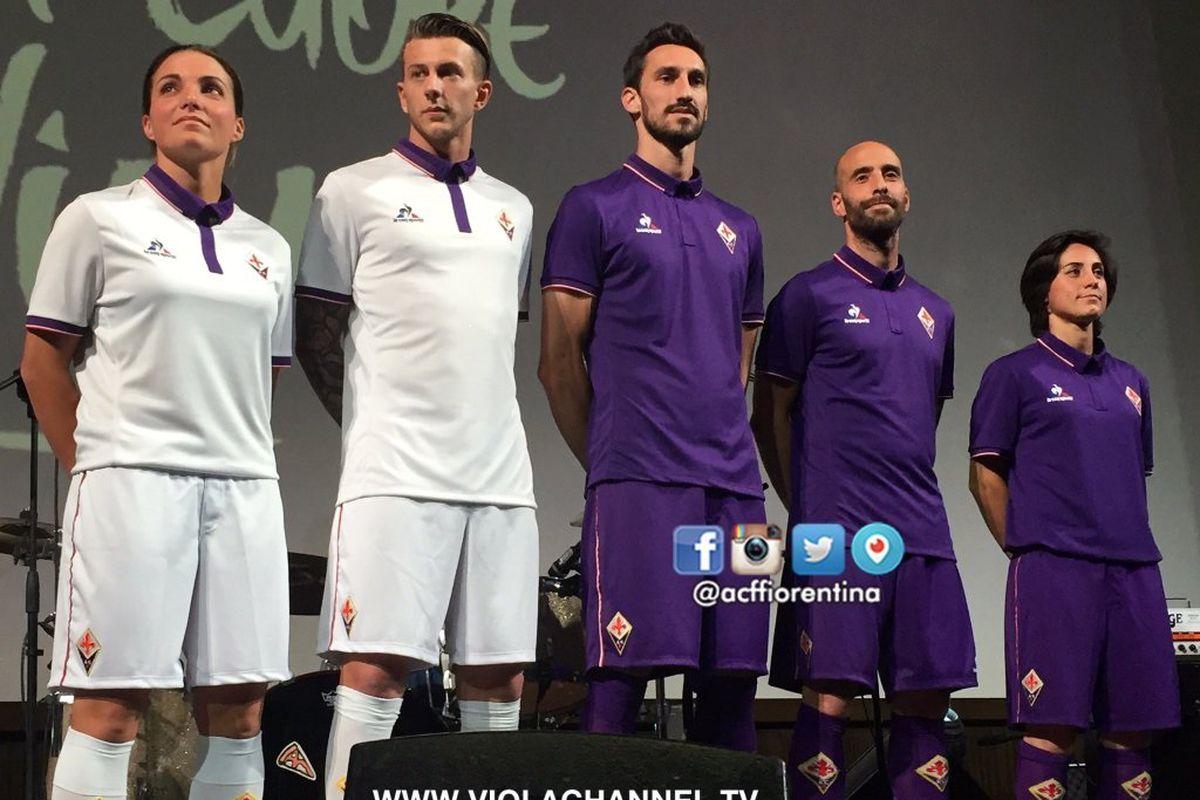 9f61e80d844 Fiorentina Unveil New Kit for 2016/17 - Viola Nation