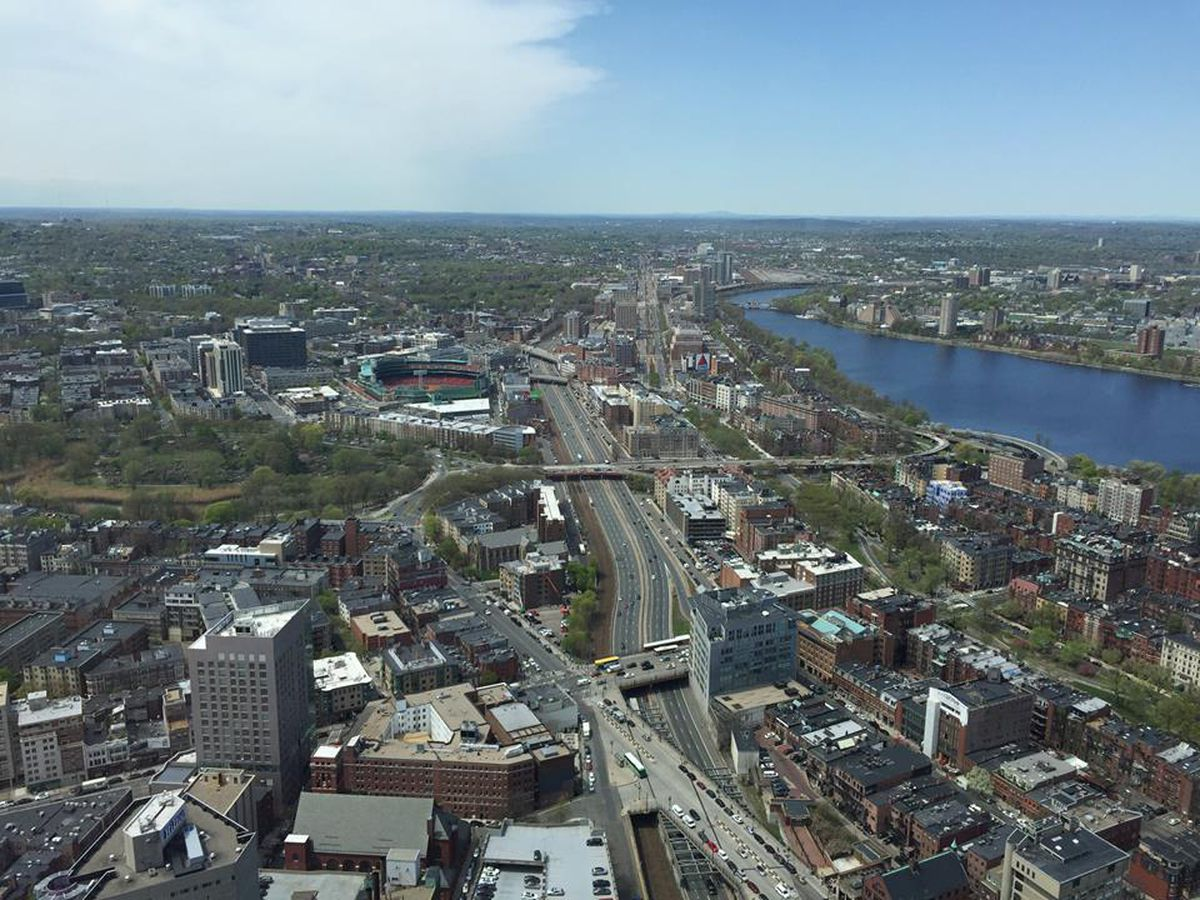 The View From Top Of Hub In Boston S Back Bay Facebook