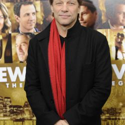 """FILE - This Dec. 7, 2011 file photo shows singer Jon Bon Jovi attending the premiere of """"New Year's Eve"""" at Ziegfeld Theatre in New York. A New Jersey man will face five years in prison after pleading guilty to a string of burglaries at the Jersey shore, including the home of rocker Jon Bon Jovi. Nicholas Tracy of Beachwood pleaded guilty Tuesday to three counts of theft and burglary from a spree that netted him more than $300,000 worth of jewelry and personal items from the homes. The thefts took place in March and April 2011 along the Middletown Township road where Bon Jovi lives."""