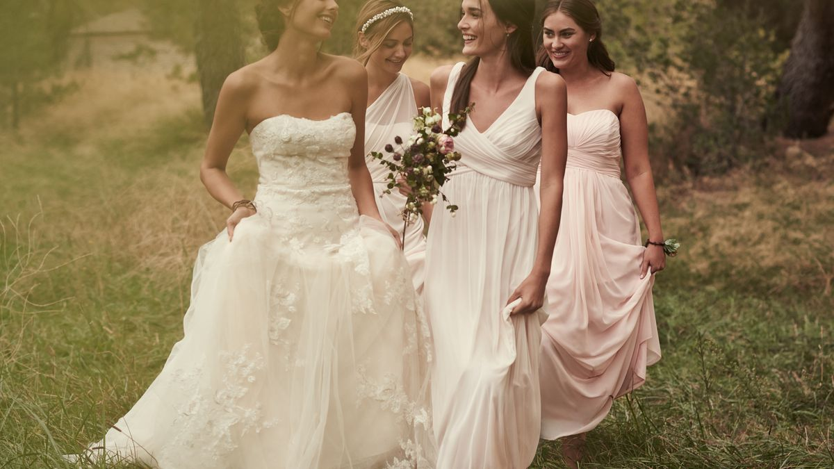 An Image From Davids Bridals Spring Campaign Photo Bridal