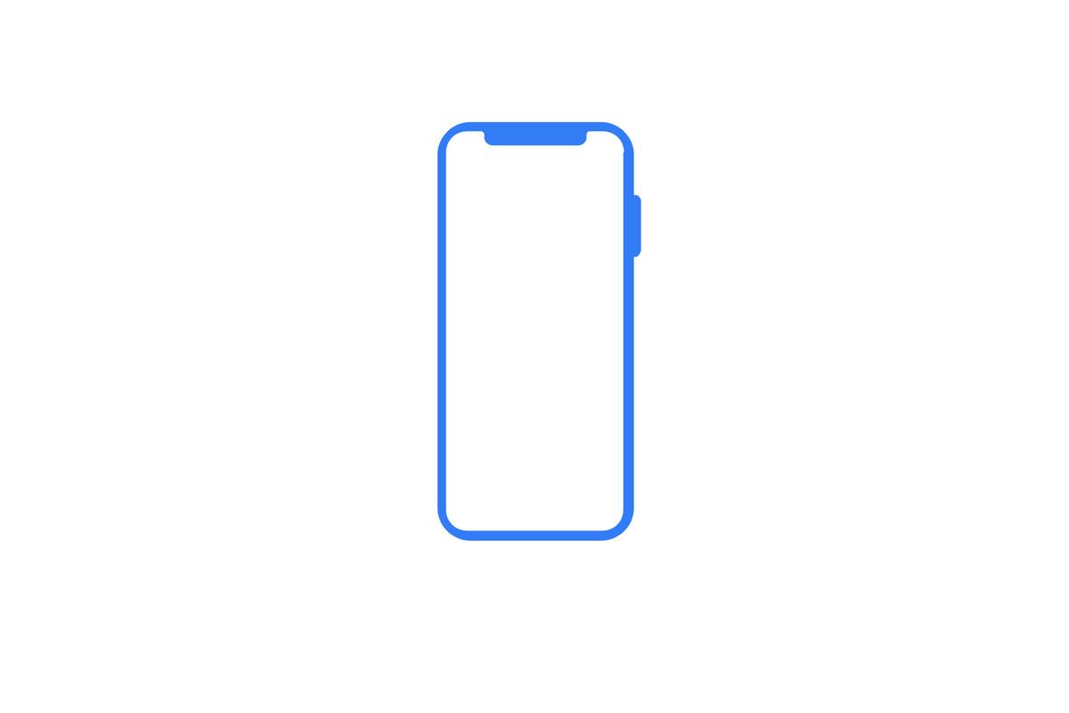 Apple iphone x icon