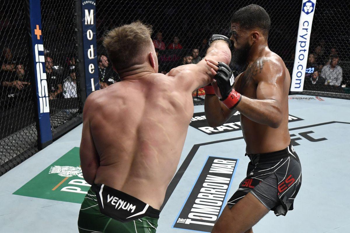 UFC 264: Giles v Du Plessis