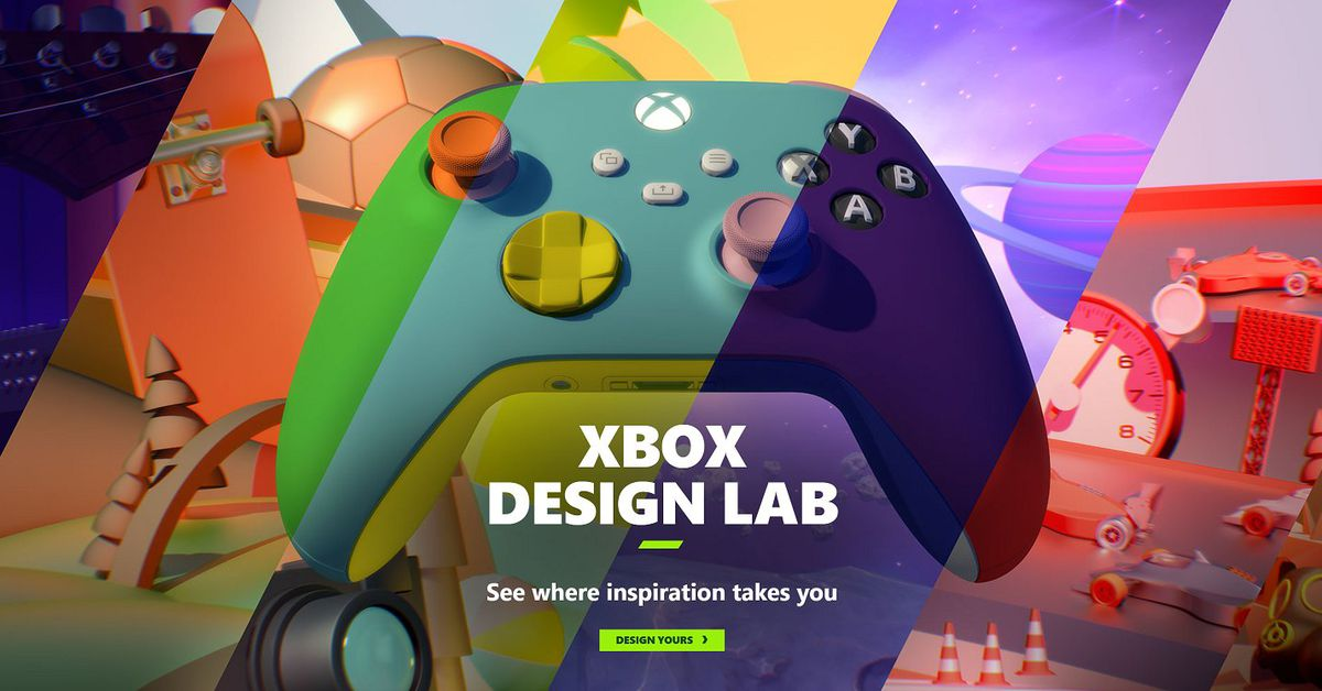 Microsoft's Xbox Design Lab returns for Xbox Series X custom controllers