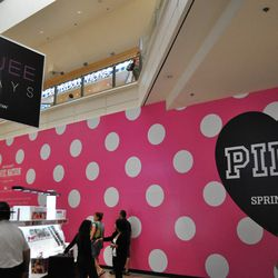 Another view of the former Victoria's Secret space.