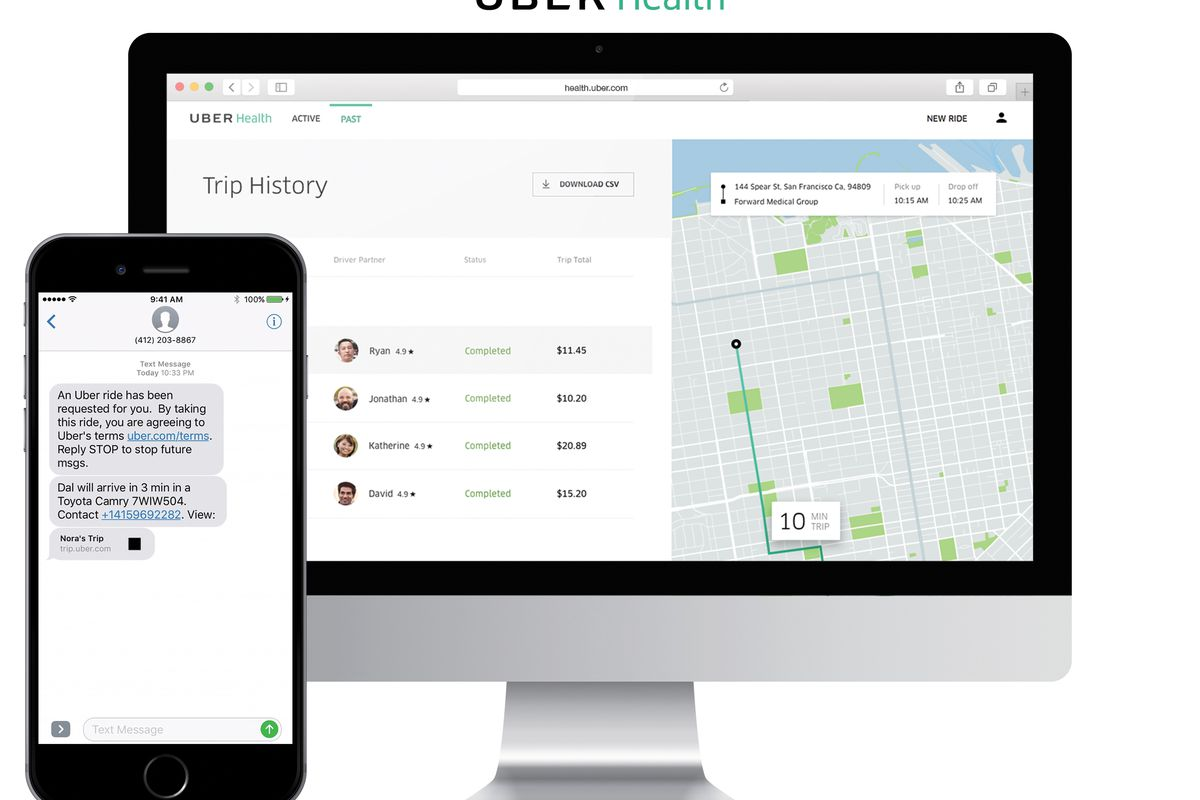 Uber Health Will Drive You To Doctor's Appointments