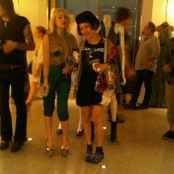 Fashionistas at Alexander McQueen