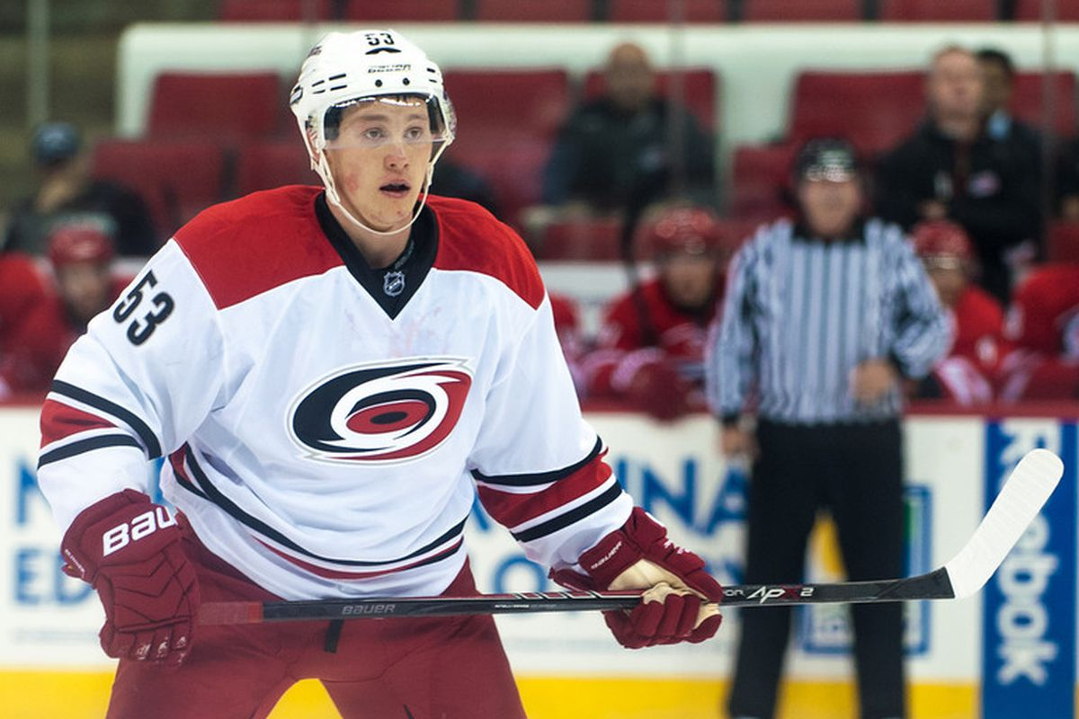 Jeff Skinner scored his 10th goal Wednesday in his 21st game, just three shy of the total he amassed in twice as many games last season.