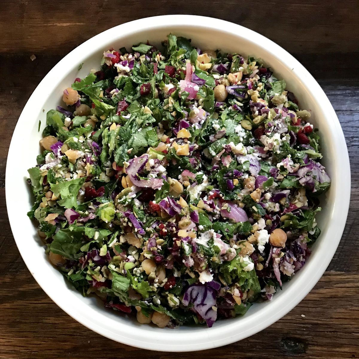 A chopped salad from Just Salad