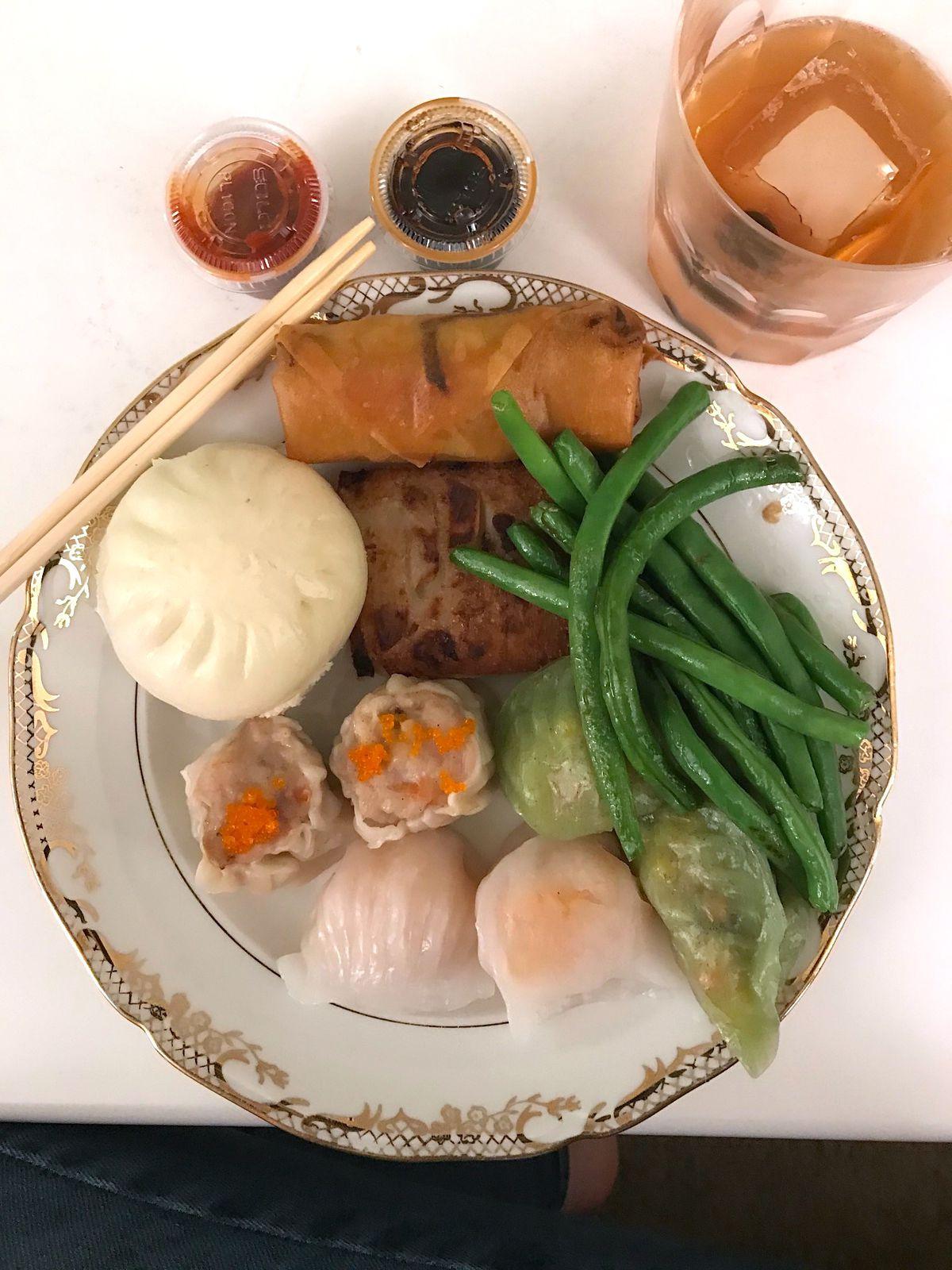 Crystal shrimp dumplings from Dumpling House