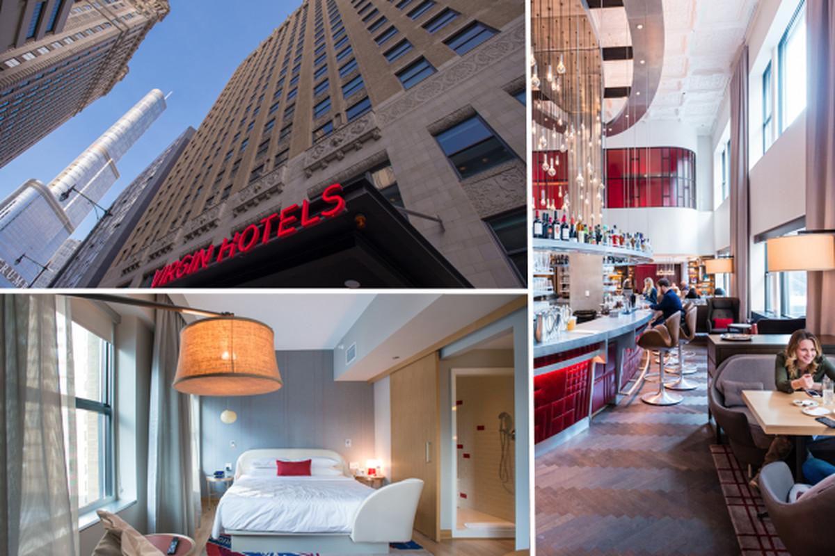 Inside the swanky virgin hotel now open in downtown for Swanky hotel