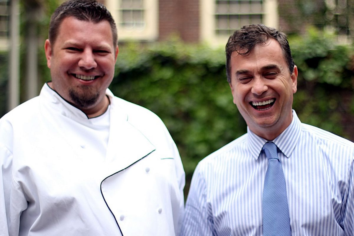 Chef Mike Stollenwerk has teamed up with Luan Tota
