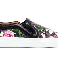 "Givenchy floral printed skater shoes, <a href=""http://www.farfetch.com/shopping/women/designer-givenchy-floral-printed-leather-skater-shoes-item-10630101.aspx?storeid=9272"">$570</a>"
