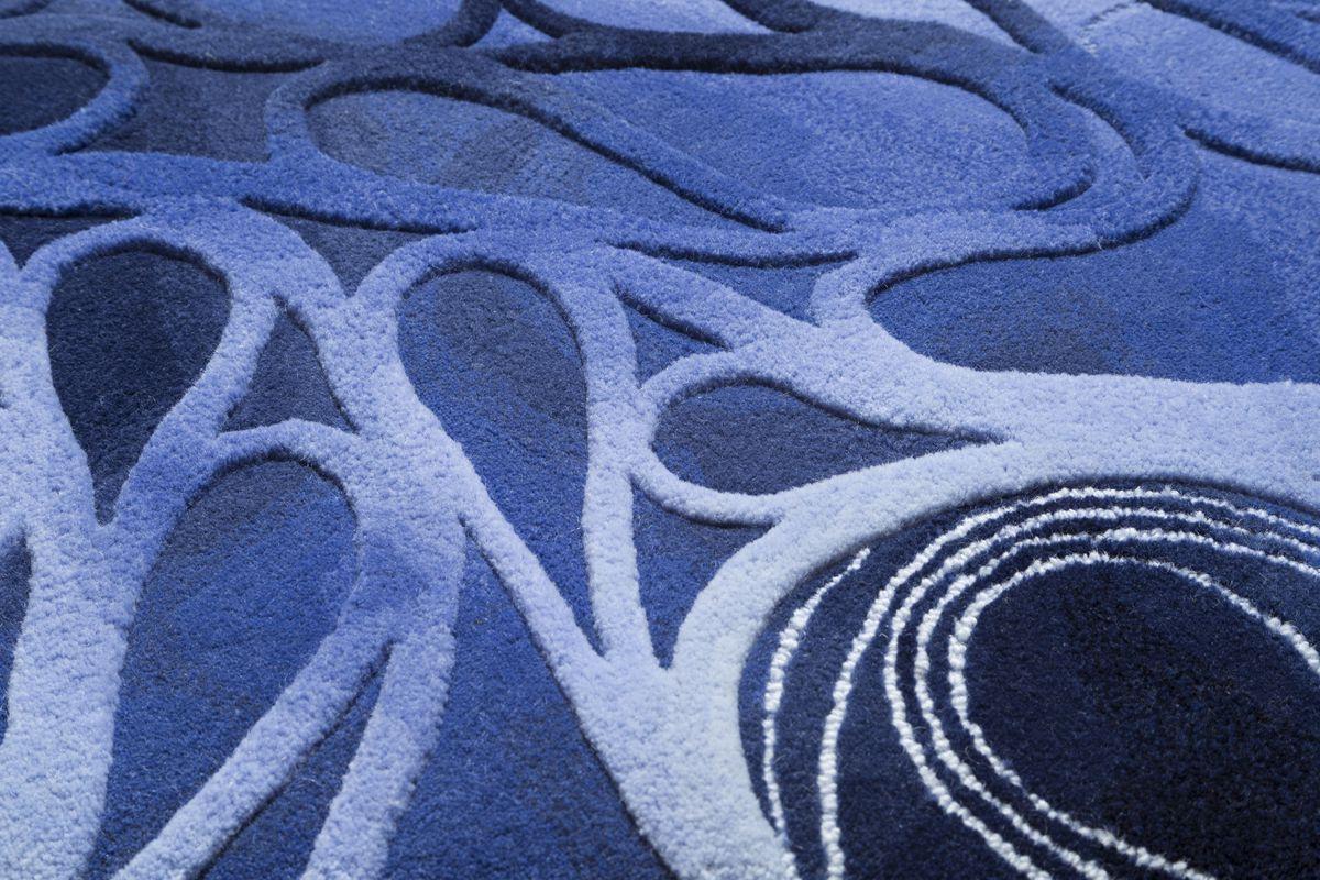 Purple carpet with light purple loops