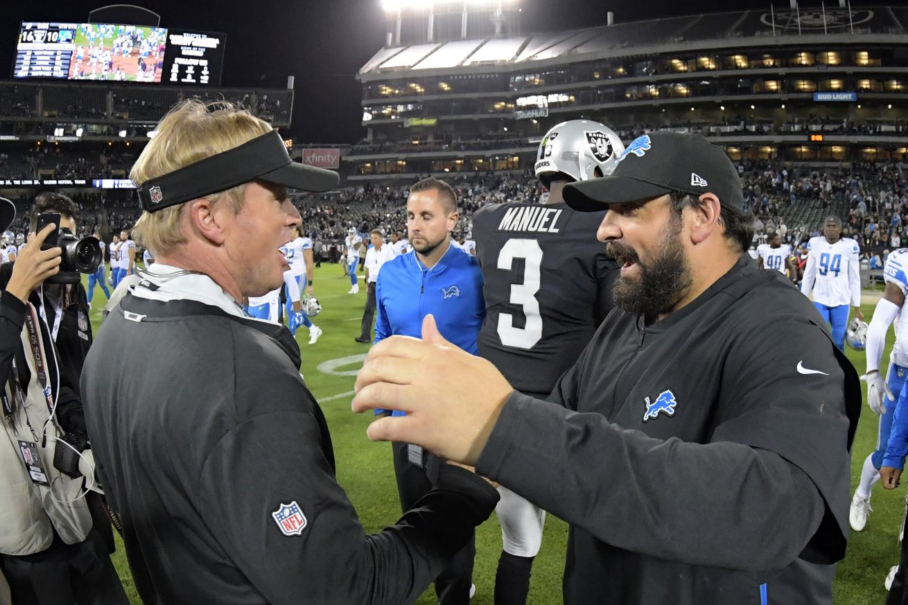 'You've got to credit Darrell Bevel the offensive coordinator. They're doing a lot of different things' and more of what players and coaches are saying ahead of Raiders, Lions in Week 9
