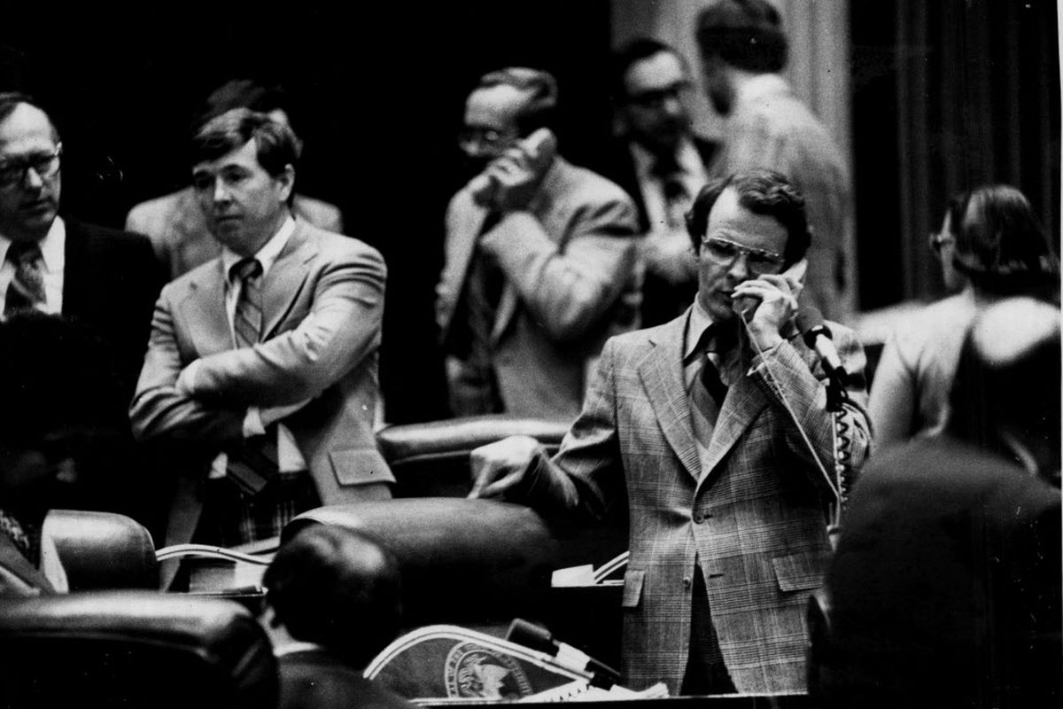 Mike Madigan on the state House floor in 1979. Sun-Times file photo.