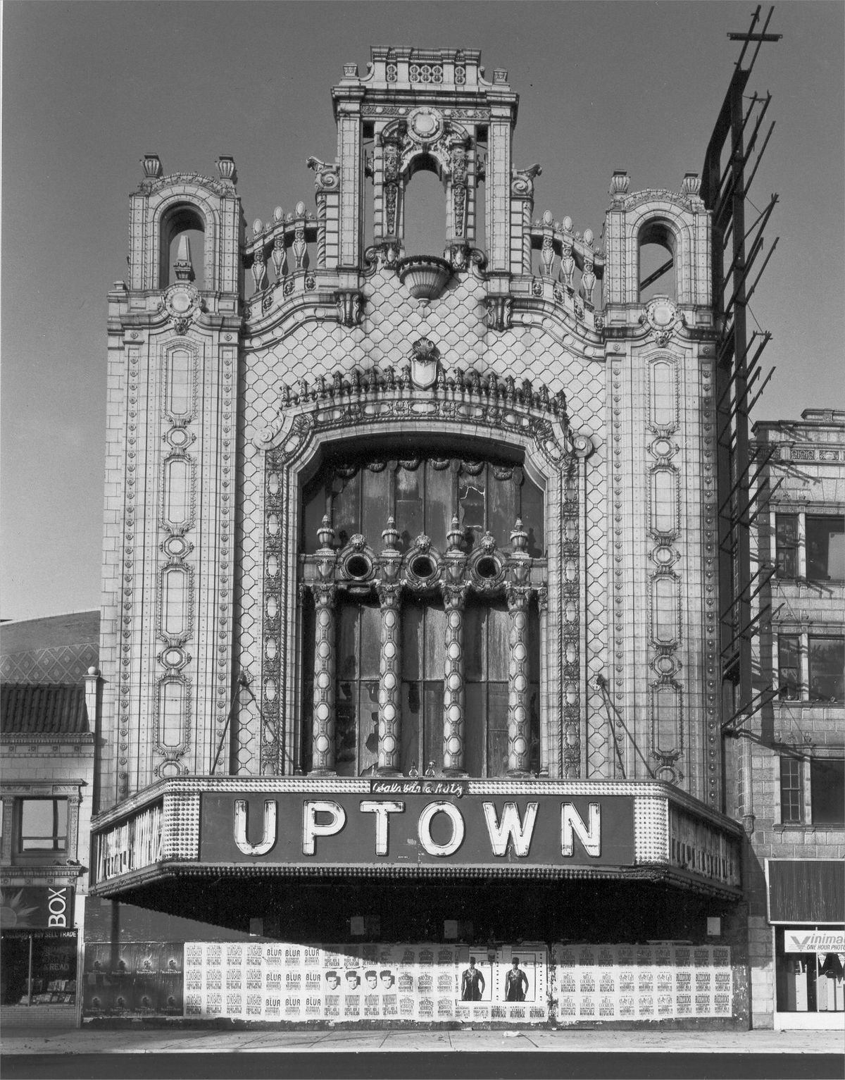 The Uptown Theatre built in 1925, was once the crown jewel of the Balaban and Katz theater chain and the nucleus of the Uptown entertainment district of the 1920s. | Sun-Times Archives
