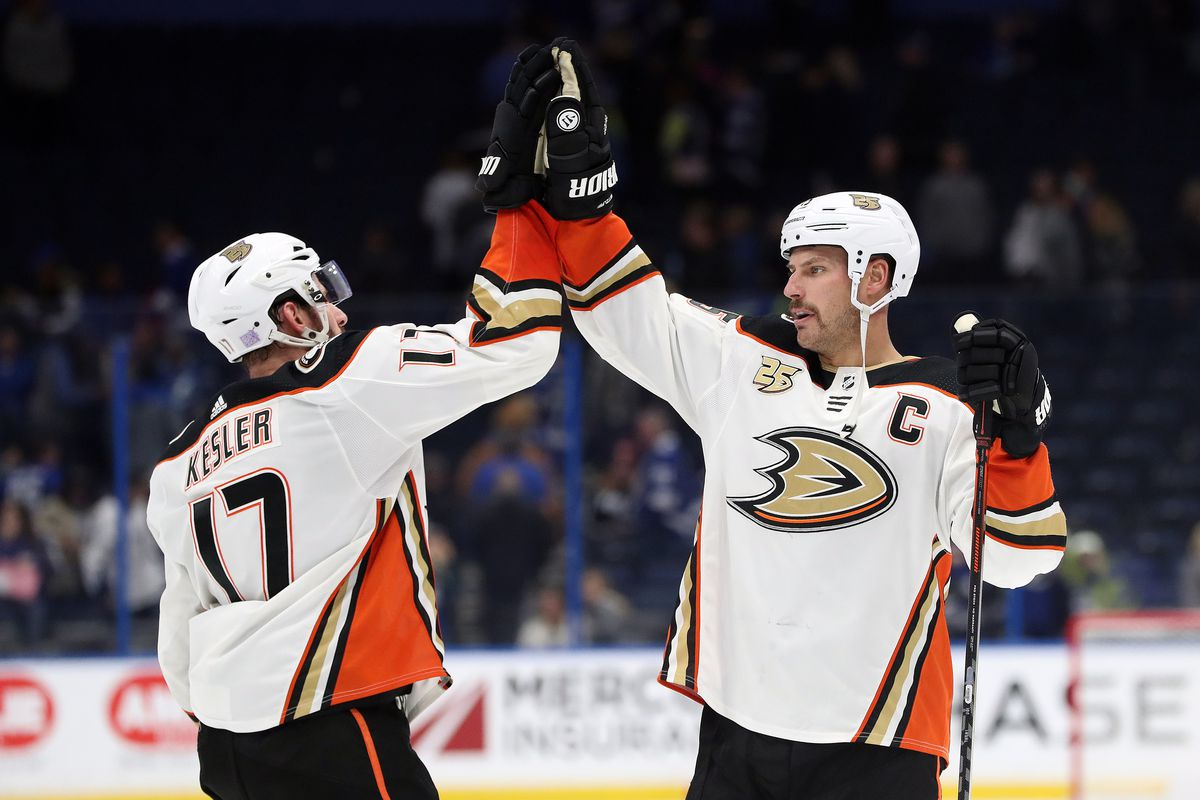 NHL: Anaheim Ducks at Tampa Bay Lightning