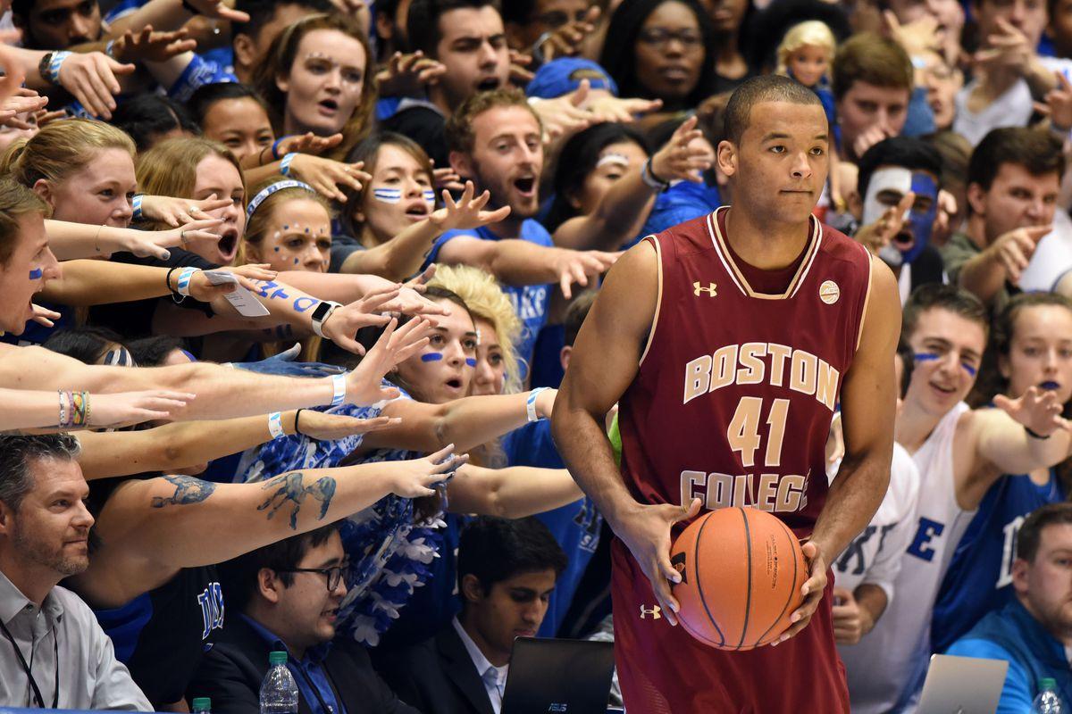 NCAA Basketball: Boston College at Duke